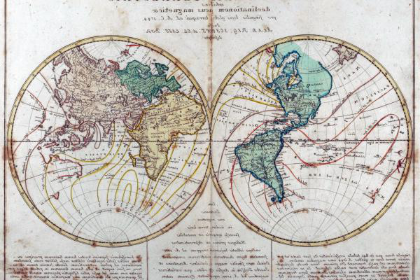 地图 of the Early Modern World