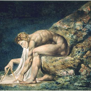 William Blake's Newton (1795)