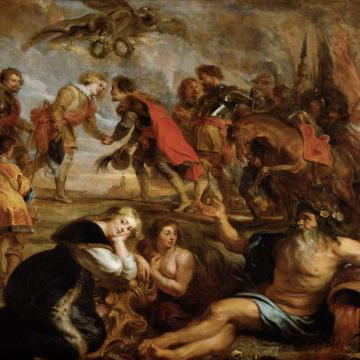 The Victory of the Two Ferdinands, Peter Paul Rubens (1635)