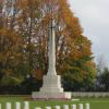 Graves at the Bayeux Commonwealth War Graves Commission Cemetery